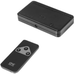 One for All SV 1630 - Video/Audio-Schalter - 3 Anschlüsse