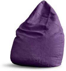 Lumaland - Luxe XL zitzak - Stijlvolle beanbag - 120L vulling - 100% Polyester - Verkrijgbaar in verschillende kleuren - Lila