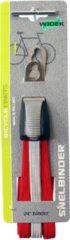Widek triobinder 24J zilver/rood