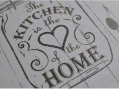 Hakenleiste für Küchenhelfer Kitchen HTI-Living Weiß