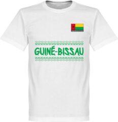 Merkloos / Sans marque Guinea-Bissau Team T-Shirt - Wit - XXL
