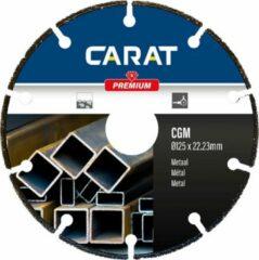 Carat zaagblad CGM metaal premium 230mm, alternatief voor de klassieke doorslijpschijf met hoger rendement