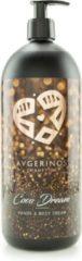 AVGERINOS HANDS AND BODY CREAM COCO DREAM1 LITER - BODY LOTION - HANDCREME - HUIDVERZORGING