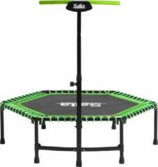 Groene Trampoline Salta Fitness including handle bar - 140cm - Green