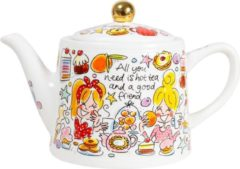 Blond Amsterdam Even Bijkletsen You and me theepot 1,5 liter