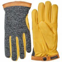 Hestra - Deerskin Wool Tricot - Handschoenen maat 7, oranje/grijs