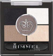 Creme witte Rimmel London Rimmel - Glam'Eyes HD Pentad Eyeshadow - Foggy Grey - Grey