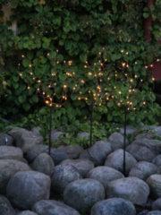 Star Trading 3er Set LED-Baum mit Erdspieß, Klassik