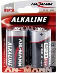 D batterij (mono) Ansmann LR20 Red-Line Alkaline 1.5 V 2 stuk(s)