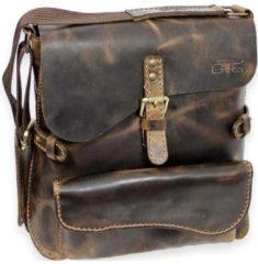 Handtasche Umhängetasche II Leder 30 cm Mika Lederwaren vintage