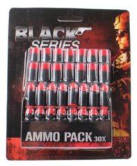 Rode Toi-Toys Toi Toys Black Series munitieset 30 delig zwart/rood