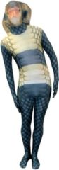Morphsuits™ King Cobra Morphsuit - SecondSkin - Verkleedkleding - 164/176 cm