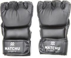 Matchu Sports - MMA handschoenen - Maat M - Zwart