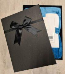Russle Fabulous Fashion- Ochtendjas/Badjas Antraciet grijs L/XL Microfleece in cadeauverpakking