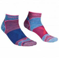 Ortovox - Women's Alpinist Low Socks - Multifunctionele sokken maat 42-44, blauw/roze/purper