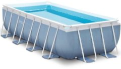 Intex Prism Swimming Pool - Blue / White - Rectangle - 488 x 244 x 107 cm