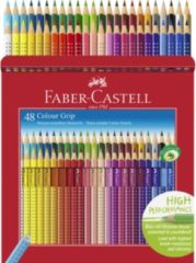Faber-Castell Faber Castell FC-112449 Kleurpotlood FC Grip 48 Stuks 2 Rijen Van 24 Stuks Kartonetui