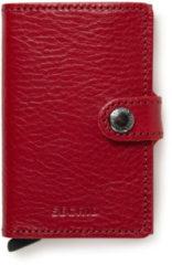 Rode Secrid Mini Wallet Portemonnee Veg Rosso / Bordeaux