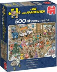 Jan van Haasteren Op het nieuwe jaar legpuzzel 500 stukjes
