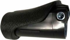 Bruine Gazelle Handvat Basisdeel Rechts 9 Cm Zwart Per Stuk