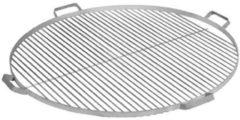 Roestvrijstalen CooKking RVS grillrooster met 4 handvatten | ⌀60cm