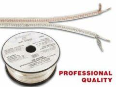 LegaMaster PROFESSIONELE AUDIOKABEL 2 x 0.25mm² ZILVER-GOUD