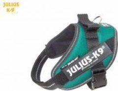 Julius K9 IDC Powertuig/Harnas - Mini/49-67cm - S - Donkergroen