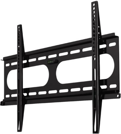Afbeelding van TV-muurbeugel ultra plat fix 3 sterren VESA 600x400 zwart