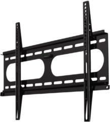 TV-muurbeugel ultra plat fix 3 sterren VESA 600x400 zwart