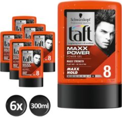 Schwarzkopf Taft Styling MAXX Power Gel flacon - 6x 300ml multiverpakking