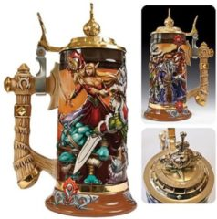 Blizzard WoW Blood of the Horde Legendary Collection Beer Stein