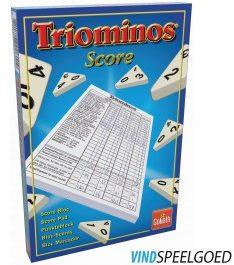 Afbeelding van Blauwe Goliath Triominos The Original Scoreblok