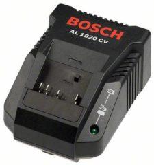 Zwarte Bosch Professional accessoire BOSCH PROFESSIONAL Acculader 2607225424 - Snellader - Li-Ion - AL 1820 CV - 2,0 A - 230 V - EU