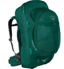 Osprey Fairview 55 Travelpack Dames Donkergroen/Lichtgroen