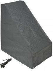 Nature Beschermhoes voor grasmaaier grijs PE H103x90x56 cm
