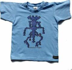 B & C Anha'Lore Designs - Alien - Kinder t-shirt - Lichtblauw - 5/6j