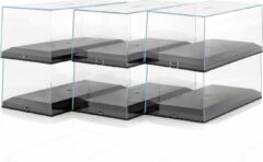 Transparante Exclusivcars 1:18 Schaal Vitrineboxen / Showcases plexiglas 6 stuks!