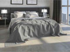 Grijze Heckettlane Bedsprei Valdez - 270x260 cm - Grey
