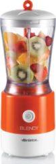 Ariete Blendy blender 0,8 l Blender voor op aanrecht Oranje, Wit 350 W