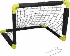 Dunlop 1x Opvouwbaar voetbaldoel 50 cm - Inklapbare voetbaldoelen - Kinderspeelgoed - Buitenspeelgoed
