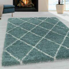 ALVOR SHAGGY Himalaya Harmony Soft Shaggy Hoogpolig Vloerkleed Blauw / Turquoise- 140x200 CM