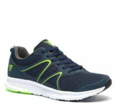 Scapino Osaga Pro hardloopschoenen donkerblauw/groen