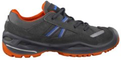 Outdoorschuhe Simon II GTX Lo 640234-6903 aus robustem Material Lowa Graphit/Orange