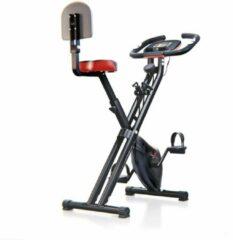 Grijze Sportstech F-bike X100-B hometrainer - X-bike - ergometer - bidon
