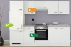 Flex-Well Küchenzeile G-270-2208-002 Wito 270 cm - Glaskeramikkochfeld