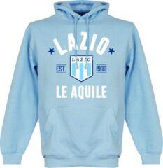 Merkloos / Sans marque Lazio Roma Established Hooded Sweater - Lichtblauw - XXL