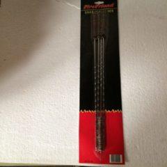 Roestvrijstalen Shaslickpennen 43 cm lang merk firefriend