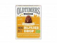 Autodrop Oldtimers honing zoete bijtjesdrop bio 180 Gram