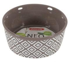 Zolux Voerbak Sandstone Grijs&Beige - Voerbak - 12 cm
