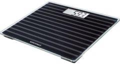 Soehnle Style Sense Compact 200 Black Edition Elektronische weegschaal Vierkant Zwart, Grijs, Transparant